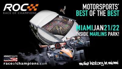 MIAMI BECOMES FIRST AMERICAN CITY TO HOST THE RACE OF CHAMPIONS