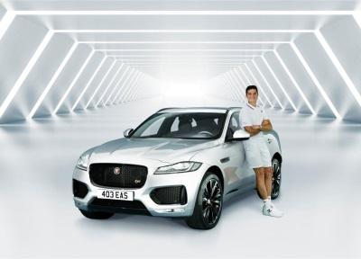 Milos Raonic Joins Jaguar Ahead Of The Championships, Wimbledon