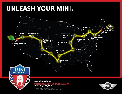 LET'S GET READY TO MOTOR! REGISTRATION FOR MINI TAKES THE STATES 2014 IS NOW OPEN!