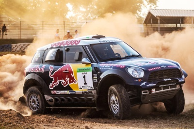 MINI AND MINI ALL4 RACING CREW NASSER AL-ATTIYAH AND MATHIEU BAUMEL CELEBRATE STRONG WIN AT HUNGARIAN BAJA
