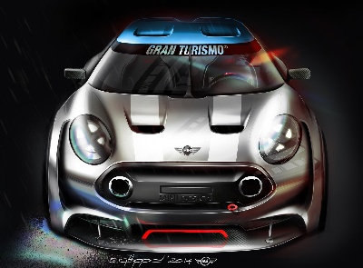 MINI GOES GRAN TURISMO®6. FROM TODAY GAMERS CAN ENJOY DRIVING THE VIRTUAL MINI CLUBMAN VISION GRAN TURISMO.