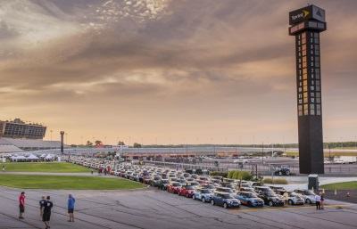 MINI TAKES THE STATES SHIFTS INTO GEAR AND MOTORS WITH A PURPOSE
