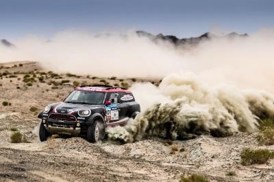 Mini John Cooper Works Rally Ranks Second Overall After Leg 11 - Dunhuang – Jiayuguan – Silk Way Rally 2017