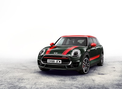 RACE-INSPIRED PERFORMANCE MEETS GROWN-UP MOTORING: THE NEW MINI JOHN COOPER WORKS CLUBMAN