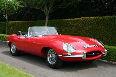 SCOTLAND'S 'MISSING' E-TYPE DISCOVERED IN RURAL PARISH