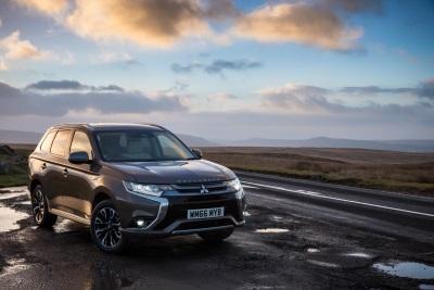 Mitsubishi Outlander PHEV Drives Record Mitsubishi Motors Used Sales