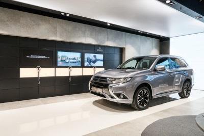 Mitsubishi Motors Partners The UK's First Multi-Brand EV Showroom
