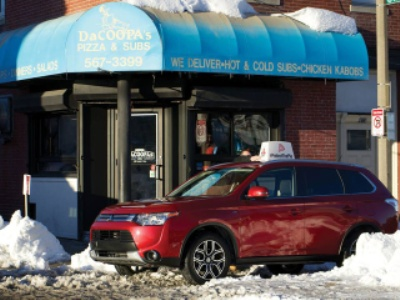 MITSUBISHI MOTORS DELIVERS DURING THE BIG GAME IN A 2015 OUTLANDER