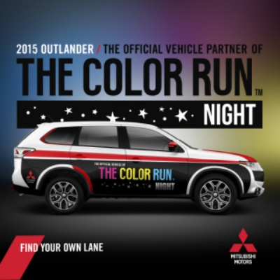 MITSUBISHI MOTORS NAMED 'OFFICIAL VEHICLE PARTNER' FOR UPCOMING THE COLOR RUN NIGHT™ IN PHILADELPHIA