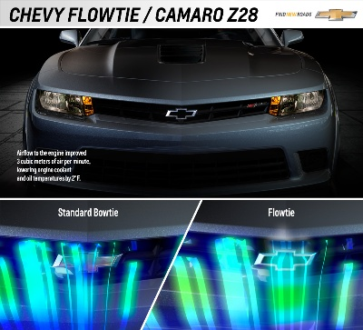 Modified Chevrolet Bowtie Makes Z/28 Even Cooler