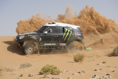 Monster Energy X-Raid Ready To Charge Dakar 2014