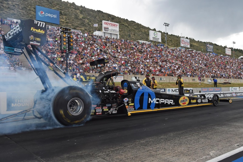 Mopar Drivers Look To Celebrate Brand's 80th Anniversary In Mopar Mile-High NHRA Nationals Winner'S Circle