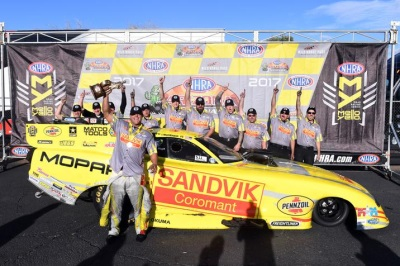 Mopar And Dodge Perfect In NHRA Nitro Competition As Hagan, Pritchett Victorious Again At NHRA Arizona Nationals