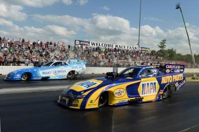 THIRD CONSECUTIVE ALL-MOPAR FUNNY CAR FINAL SENDS CAPPS TO EPPING WINNER'S CIRCLE