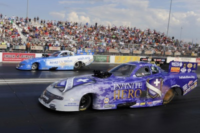 ALL-MOPAR FUNNY CAR ST. LOUIS FINAL ENDS WITH WIN FOR DODGE CHARGER PILOT JACK BECKMAN