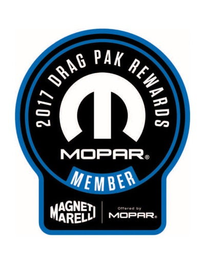 MOPAR ANNOUNCES INITIATIVES TO SUPPORT NHRA RACERS IN 2017