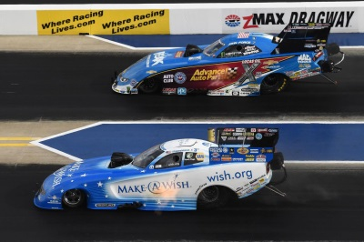 MOPAR FUNNY CAR DRIVER JOHNSON JR. LAUNCHES INTO COUNTDOWN WITH FINAL ROUND
