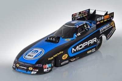 Hagan To Debut Mopar 80Th Anniversary Funny Car Graphics At Mopar Mile-High NHRA Nationals