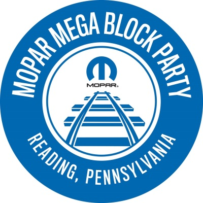 MOPAR REVVING UP TO ROCK READING WITH MOPAR MEGA BLOCK PARTY