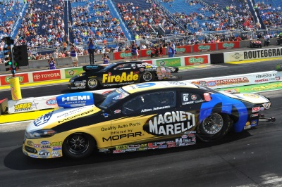 MOPAR DOUBLES-UP ON WINS AT ROUTE 66 NHRA NATIONALS
