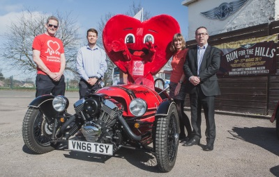 British Heart Foundation Announced As Morgan Motor Company Charity Of The Year Partner For 2017