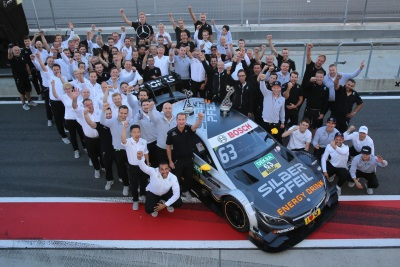 First-time winner in Moscow: Maro Engel claims maiden DTM victory