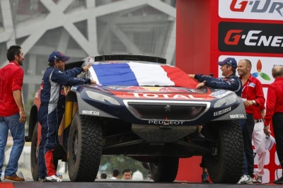 MOSCOW-BEIJING TRIUMPH FOR THE PEUGEOT 2008 DKR