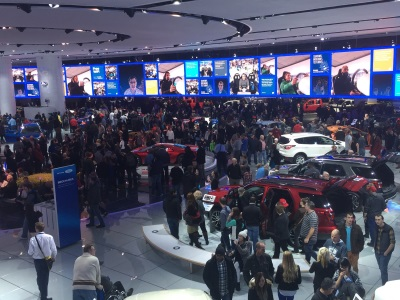 Automotive Excitement Brings Over 100,000 to 2017 NAIAS as the Show Kicks into High Gear