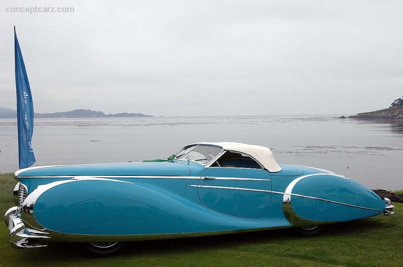 1949 Delahaye Type 175 S Roadster - Chassis Num: 815023