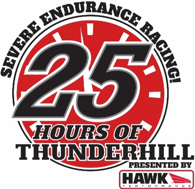 NASA'S 25 HOURS OF THUNDERHILL PRESENTED BY HAWK PERFORMANCE READY FOR THE GREEN