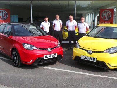 New Forest Welcomes MG Dealer
