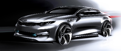KIA TO UNVEIL ALL-NEW OPTIMA AT NEW YORK AUTO SHOW