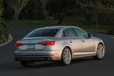 2017 Audi A4 earns a 2016 Top Safety Pick+ Rating from IIHS