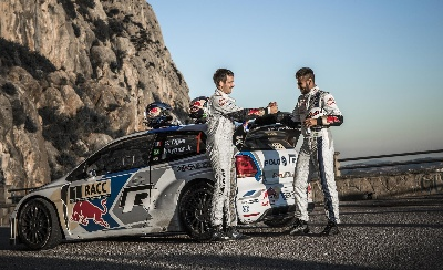 DRIBBLER MEETS DRIFTER: NEYMAR JR. SPENDS DAY AS OGIER'S CO-DRIVER