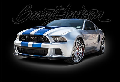 'NEED FOR SPEED' MUSTANG AND FIRST PRODUCTION 2015 CORVETTE Z06 SET TO CROSS THE BLOCK AT BARRETT-JACKSON'S 12TH ANNUAL PALM BEACH AUCTION