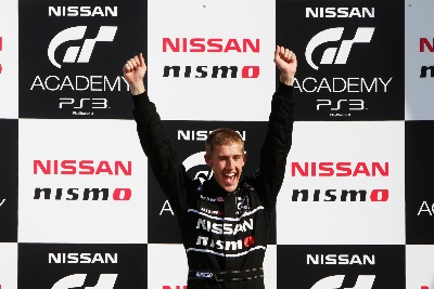 RACE TO THE RED HELMET: NICK MCMILLEN WINS NISSAN GT ACADEMY SEASON 3