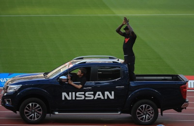 NISSAN IN THE PASSENGER SEAT AS ATHLETES RIDE TO GLORY AT THE 2016 MULLER ANNIVERSARY GAMES