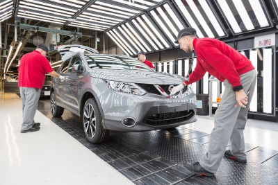 NISSAN ANNOUNCES 2016 UK PRODUCTION STATISTICS