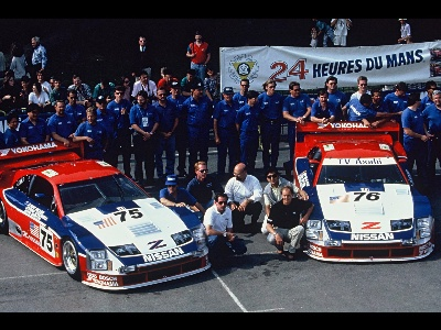 NISSAN READY TO 'PARTY LIKE IT'S 1994' – LE MANS WINNING NO. 75 300ZX RACE CAR SET FOR MONTEREY MOTORSPORTS REUNION