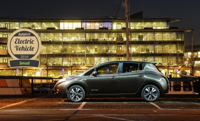 NISSAN 30KWH LEAF AND E-NV200 VAN ARE ELECTRIC STARS AT 2016 AUTOVOLT AWARDS
