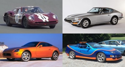 Nissan Displays Quartet Of Historic Sports Cars – Plus The New 370Z Heritage Edition – At 30Th Annual Z Car Convention