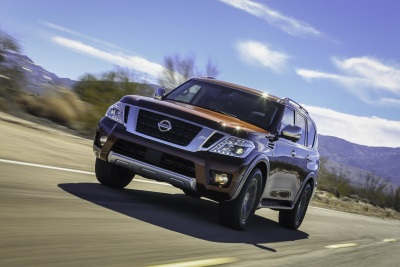 Nissan Armada Named One Of Autotrader's '2017 Must Test Drive Award' Winners