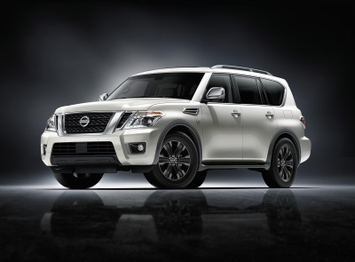 Nissan Armada Named 'SUV Of The Year' In Popular Mechanics Magazine'S 2017 Automotive Excellence Awards
