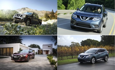 NISSAN SCORES FOUR WINNERS IN AUTOPACIFIC'S 2016 VEHICLE SATISFACTION AWARDS – MAXIMA, MURANO, ROGUE AND FRONTIER .