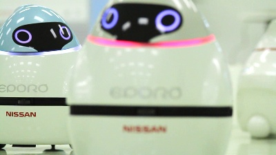 NISSAN INSPIRED BY BEES AND FISH IN DEVELOPING TECHNOLOGY FOR FUTURE MOBILITY