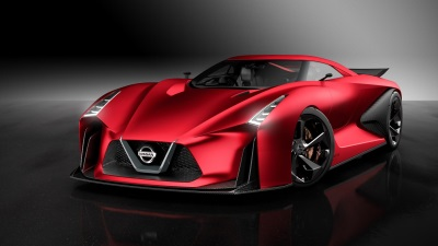 NISSAN CONCEPT 2020 VISION GRAN TURISMO DISPLAYED AT LAUNCH OF NEW GRAND TURISMO SPORT GAME IN LONDON