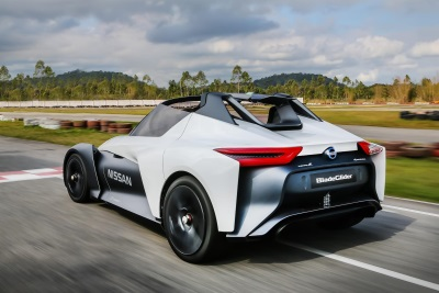 Nissan Bladeglider Electrifies Goodwood's Hillclimb For European Public Debut