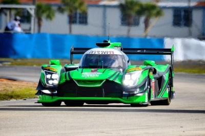 Nissan-Powered ESM Team Testing In Preparation For Sebring