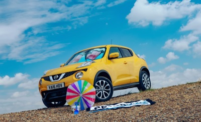 FACTOR 50 FOR YOUR NOSE, FACTOR 500 FROM YOUR NISSAN