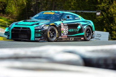 STRONG PACE BY GT-R SQUAD IN WORLD CHALLENGE IN CANADA